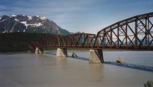 The Million Dollar bridge outside Cordova