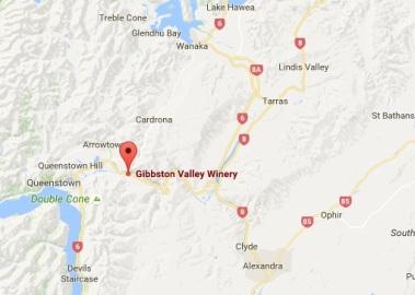 Gibbston Valley Map