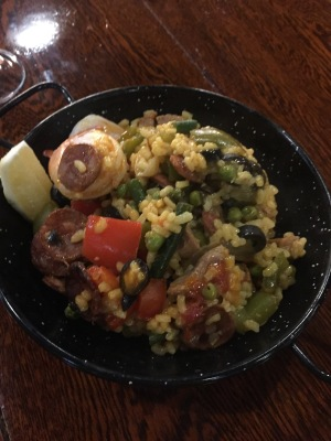 Paella at Elliott Stables