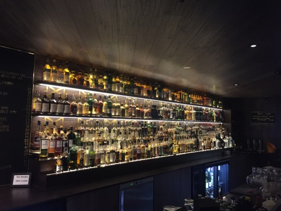 The other side of the bar