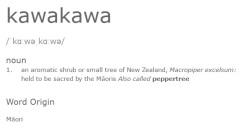 Kawakawa Definition