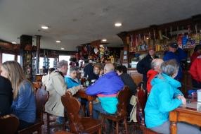 The cafe at the top of Cerro Campanario