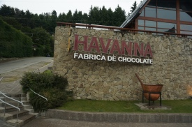 One of the chocolate places in Bariloche